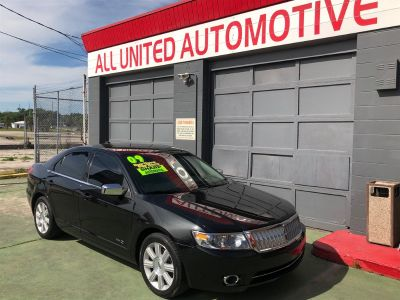 2009 Lincoln MKZ Base (Black)