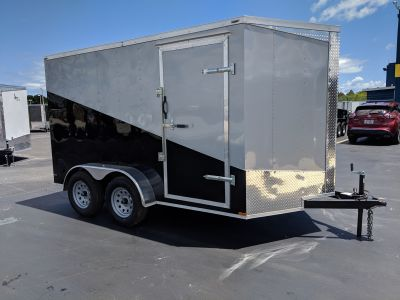 2019 Lark VT7X12TA Motorcycle Extra Tall Cargo Trailers Fort Pierce, FL