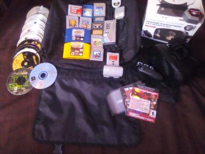 N64/Ps1(Burned Games)/ Gameboy/ VR Headset. Assorted Vintage Games/ Collectibles