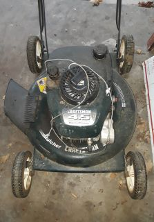 Craftsman Mulching Mower-Works but Needs Pull Cord Fixed