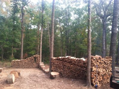 FIREWOOD FOR SALE DELIVERED AND STACKED