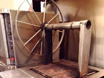 JR Broiler - wood burning grill