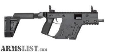 For Sale: Kriss Vector 45 ACP! We Won't Be Undersold On This Item! Found It Cheaper? Call 260-416-6017