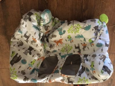 Baby animal shopping cart / high chair cover