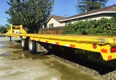 2012 Big-Tex Flatbed-Trailer