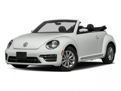 2018 Volkswagen Beetle Convertible S Auto (White Silver Metallic/Black Roof)