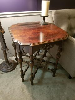 Beautiful antique accent table