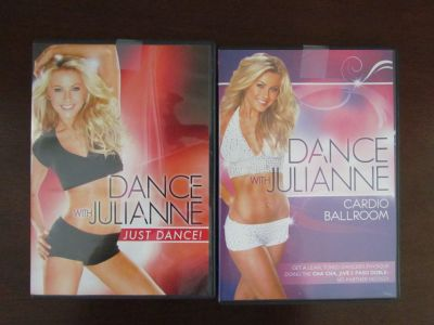 Dance with Julianne DVDs