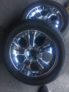 Tires and rims $800 LIKE NEW