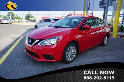 2019 Nissan Sentra S (RED)