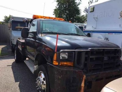 1999 Ford SUPER DUTY F-550 SELF LOADER TOW TRUCK