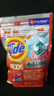 Tide pods 4 in 1 downy 23 count