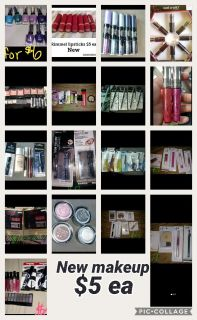 All new make up to $5 ea cosmetics