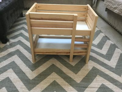 Bunk bed for dolls (fits American Girl Dolls)