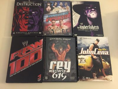 Wrestling DVDs and Box Sets Undertaker Raw