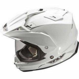 Sell NEW FLY RACING TREKKER DUAL SPORT MOTORCYCLE WHITE HELMET SIZE: SM-2XL motorcycle in Kaukauna, Wisconsin, US, for US $125.50