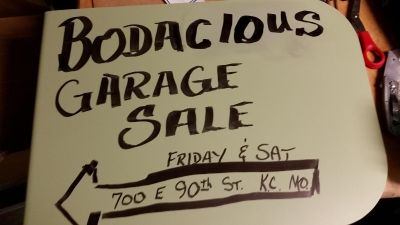 Continuous Garage sale. Tons of stuff. Been gathering in my Basement sense 1995.