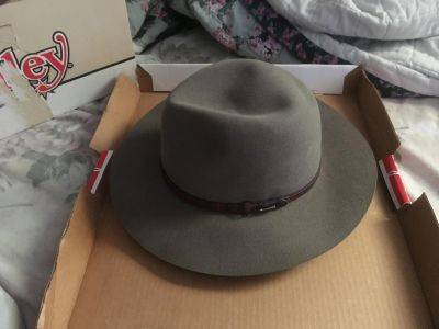 Practically just like new cowboy hats.