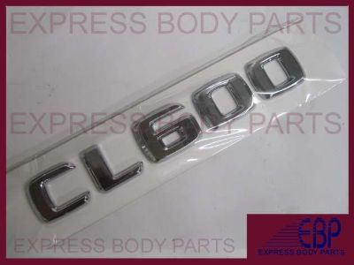 Sell MERCEDES BENZ CL600 CL CHROME TRUNK LOGO LETTERING BADGE EMBLEM REAR BACK LID motorcycle in North Hollywood, California, US, for US $15.99