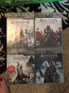 Assassins creed PS3 games