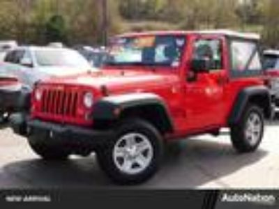 Used 2016 Jeep Wrangler Firecracker Red Clearcoat, 41.1K miles