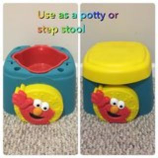 Elmo potty chair