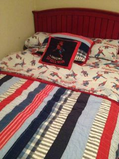 Bed, Mattress,  Spider Man Bedding by Pottery Barn