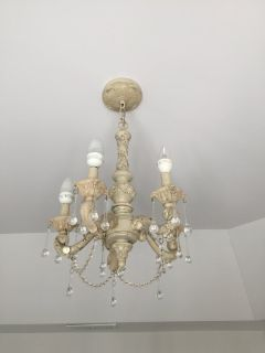 French Country / Shabby Chic Chandelier