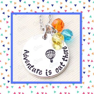DISNEY UP! Adventure is Out There silver pendant necklaces with 18 chain, $3 each!