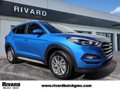 2018 Hyundai Tucson SEL (Caribbean Blue)