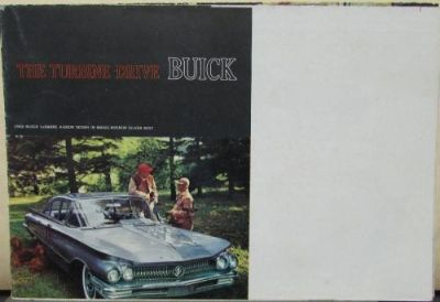 Find 1960 Buick Turbine Drive LeSabre Invicta Electra Black Cover Sales Brochure motorcycle in Holts Summit, Missouri, United States, for US $12.00