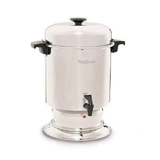 West Bend 55 Cup Commercial Stainless Steel Coffeemaker NEW