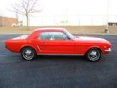 1964 Ford Mustang Coupe 289Ci V8 4Speed Manual