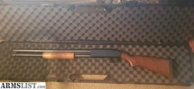 For Sale: Vintage 80's Mossberg 500 Persuader with wood stock and foregrip