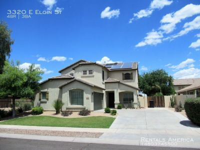 Stunning 4 Bed 3 Bath Chandler Home w/ Pool, Spa, Walk-In Tub, MORE!