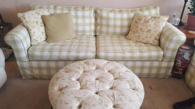 Couch, love seat & ottoman