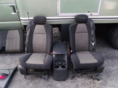 Buy Ford F150 Black OEM Seats Door Panels Console Ext Cab motorcycle in Lawrenceville, Georgia, US, for US $575.00