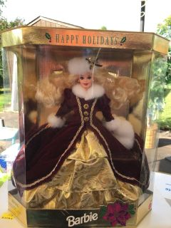 Special Edition Holiday Barbie in the Box
