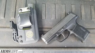 For Sale: SIG SAUER P365 NIB with matching sig holster