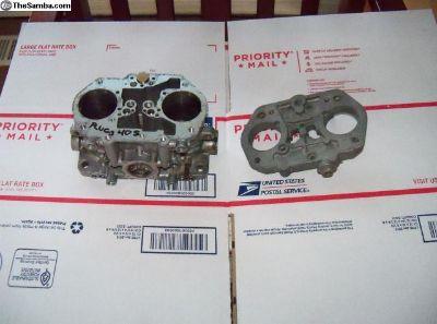 Dellorto DRLA 40S Carb body / lid
