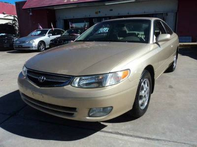 2001 TOYOTA SOLARA GOLD $800 DOWN, NO CREDIT CHECK, WE FINANCE YOU (MOTOR-TEX.COM 713-696-9999 DRIVE TODAY)
