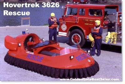 Brand New 14 Neoteric Rescue Hovercraft 3626 Deluxe