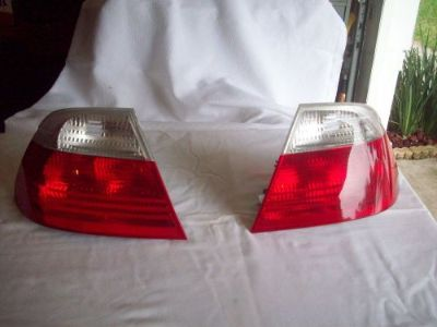 Purchase PAIR,2000-2002 BMW 3 SERIES E46 TAIL LIGHTS,CLEAR LENS,OEM motorcycle in Ocoee, Florida, United States
