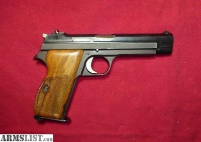 For Sale: SIG P210 -6 7.65mm wood grips *Near MINT*