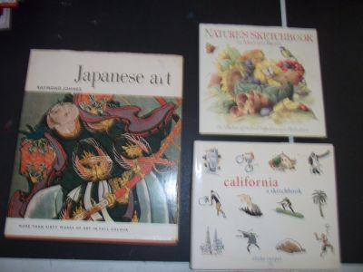 Art Book Lot