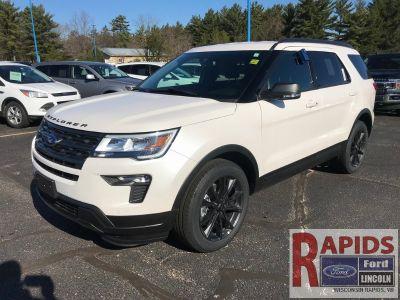 2019 Ford Explorer (White Metallic)
