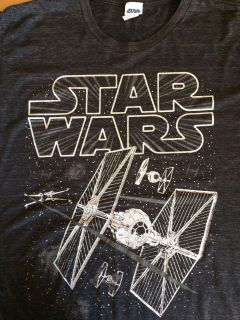 Men's L (42/44) Star Wars Graphic T-Shirt / Short Sleeves