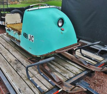 1966 Trail-A-Sled Scorpion Complete Snowmobile -can deliver to St Germain Round-Up this Weekend