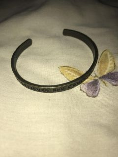 She believed she could and she did new bracelet