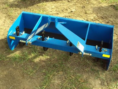 New heavy duty 3pt 4 foot box blade